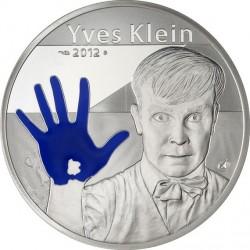 France 2012. 50 euro. Yves Klein