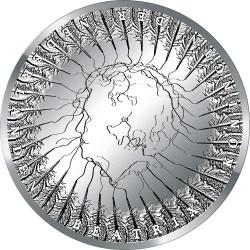 Niderland 2013. 5 euro. Utrecht (Ag)