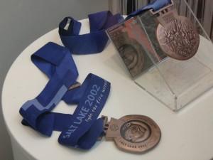 Olympics medal Salt Lake 2002