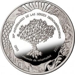 Argentina 2012. 25 Pesos. Ibero-America