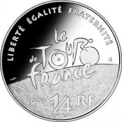 France 2003 0.25 euro Tour-de-France Cyclists av