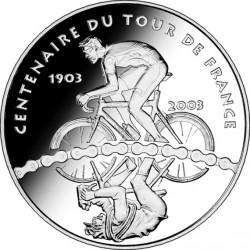 France 2003 0.25 euro Tour-de-France Cyclists rev