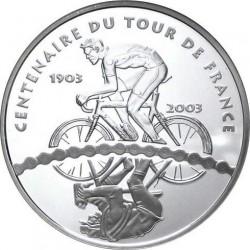France 2003 1.5 euro Tour-de-France Cyclists rev
