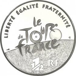 France 2003 1.5 euro Tour-de-France