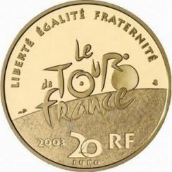 France 2003 20 euro Tour-de-France Cyclists