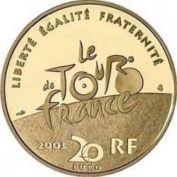 France 2003. 20 euro. Tour-de-France. Sprint