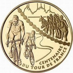 France 2003. 20 euro. Tour-de-France. Stage Mountain