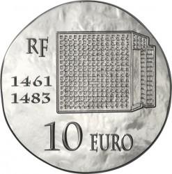 France 2013. 10 euro. Louis XI