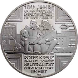 Germany 2013. 10 Euro. Rotes Kreuz