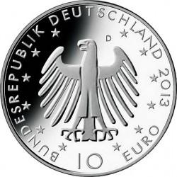 Germany 2013. 10 euro. Richard Wagner