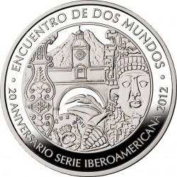 Guatemala 2012. 1 Quetzal. Ibero-America
