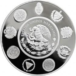 Mexico 2012. 5 pesos. Ibero-America