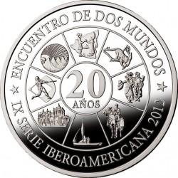 Никарагуа 2012. 10 кордоб. Иберо-Америка