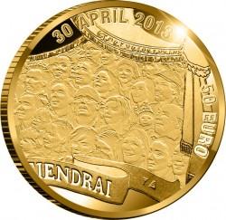 Netherland 2013. 50 euro. Willem-Alexander