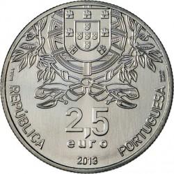 Portugal 2013. 2.5 euro. Red Cross (CuNi)