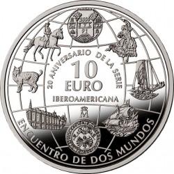 Spain 2013. 10 Euro. Ibero-America