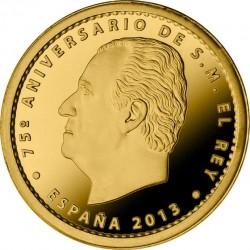 Spain 2013. 20 euro. Juan Carlos I
