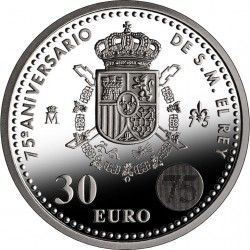 Spain 2013. 30 euro. Juan Carlos I