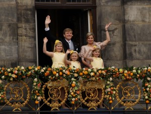 Willem-Alexander and family