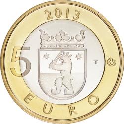 Finland 2013. 5 euro. Satakunta - Sammallahdenmäki
