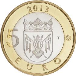 Finland 2013. 5 euro. Varsinais-Suomi. Turku Cathedral
