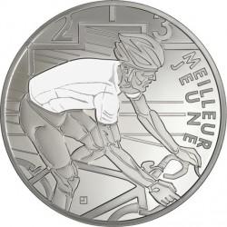 France 2013. 10 euro. Tour de France. blanc