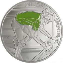France 2013. 10 euro. Tour de France. vert rev