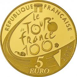 France 2013. 5 euro. Tour de France