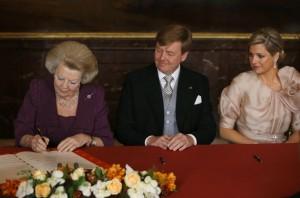 Момент подписания отречения от престола
