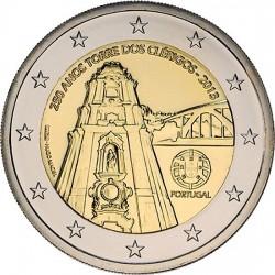 2 euro. Portugal 2013. Igreja dos Clérigos