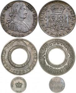 8 reals, holey dollar, dump 1813