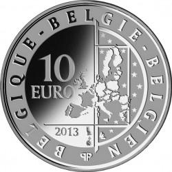 Belgie 2013. 10 euro. Hugo Claus