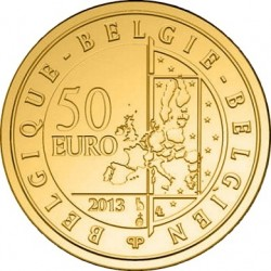 Belgie 2013. 50 euro. Hugo Claus