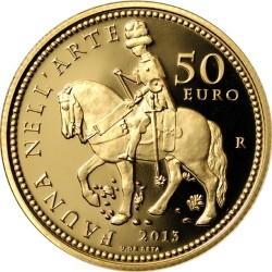 italy 2013 50 euro fauna