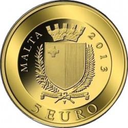 malta 2013. 5 euro. picciolo
