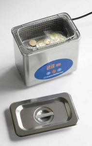 Ultrasonic Cleaner coins