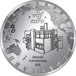 Netherlands 2013. 5 euro. Rietveld Schröder House