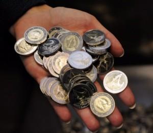 latvian 2 euro coins 2014