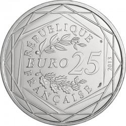 Франция 2013. 25 евро. Ценности Французской республики