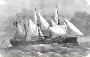 Броненосец «La Gloire», фото 1859 г.