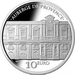 Malta 2013. 10 euro. Auberge de Provence