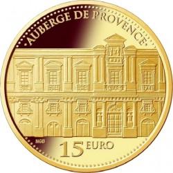 Malta 2013. 15 euro. Auberge de Provence