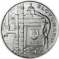 slovakia 2013. 10 euro. Jozef Karol Hell