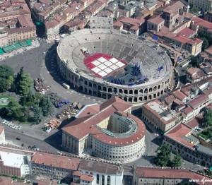 Arena di Verona air