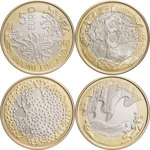 Finland 2012. 5 euro. nature
