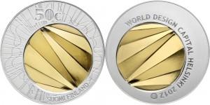 Finland 2012. 50 euro. WORLD DESIGN CAPITAL HELSINKI 2012