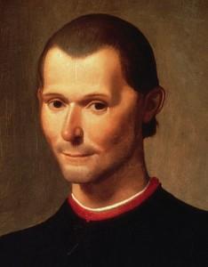 Niccolò Machiavelli, Santi di Tito, Palazzo Vecchio in Florence