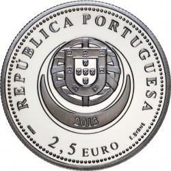 Portugal 2013 2.5 euro Arrecadas