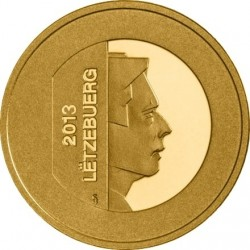 Luxembourg 2013. 10 euro. Golden Lady