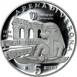 San Marino 2013. 5 euro. Arena di Verona